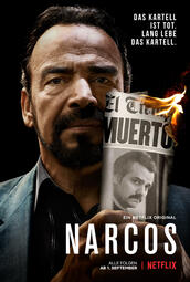Narcos Staffel 3 - Poster