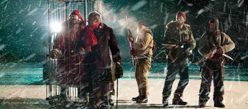 Der Weihnachtsmann im Käfig?