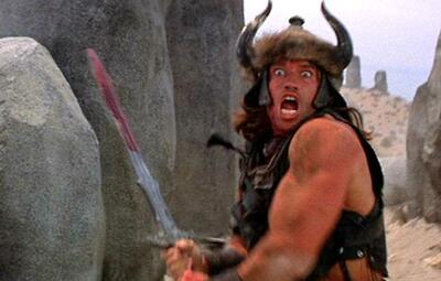 Arnold Schwarzenegger in Conan
