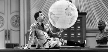 Charlie Chaplin in Der große Diktator