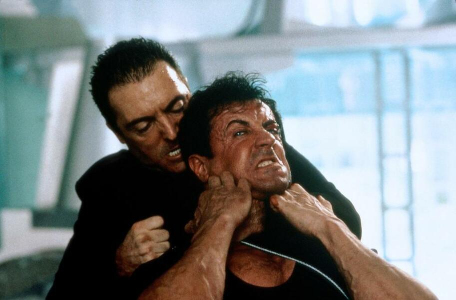 Judge Dredd mit Sylvester Stallone und Armand Assante