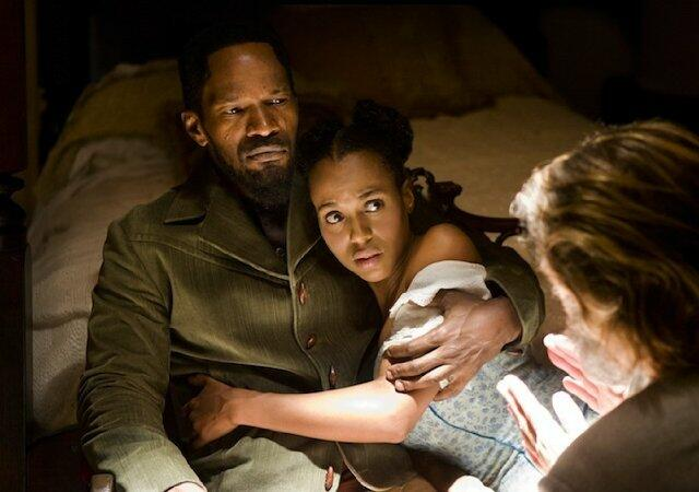 Django Unchained mit Jamie Foxx und Kerry Washington