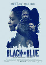 Black and Blue - Poster