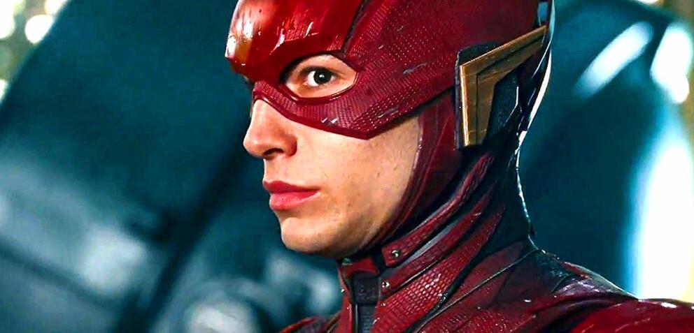Ezra Miller in Justice League
