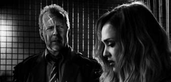 Bruce Willis & Jessica Alba in Sin City 2