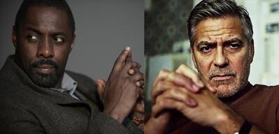 Idris Elba und George Clooney