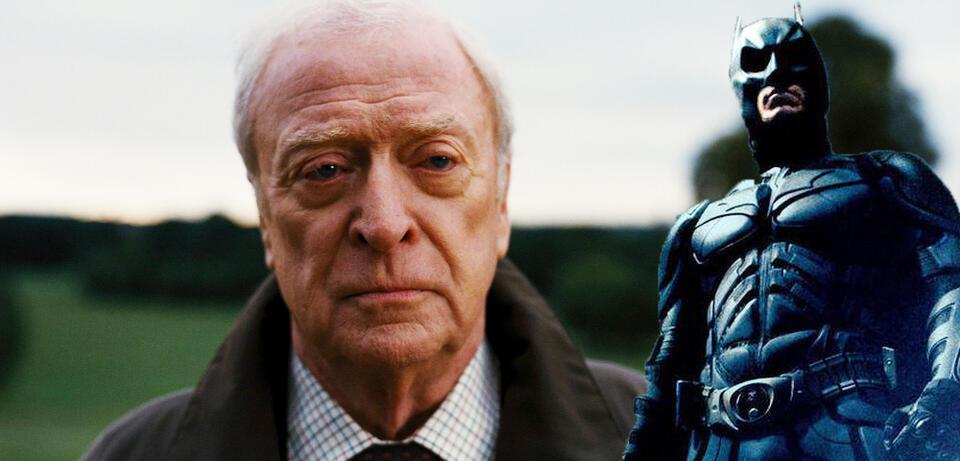 Alfred Pennyworth in The Dark Knight