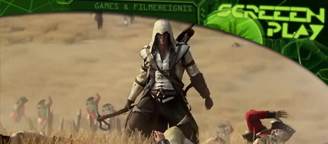 Connor Kenway im Live Action Trailer von Assassin's Creed III