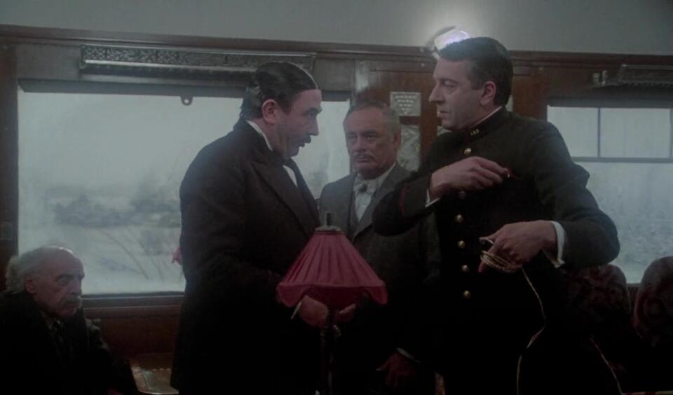 Mord im Orient Express mit Albert Finney