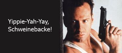 Bruce Willis in seinem Element
