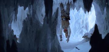 Luke in der Wampa-Höhle