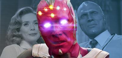 Vision in der Marvel-Serie WandaVision