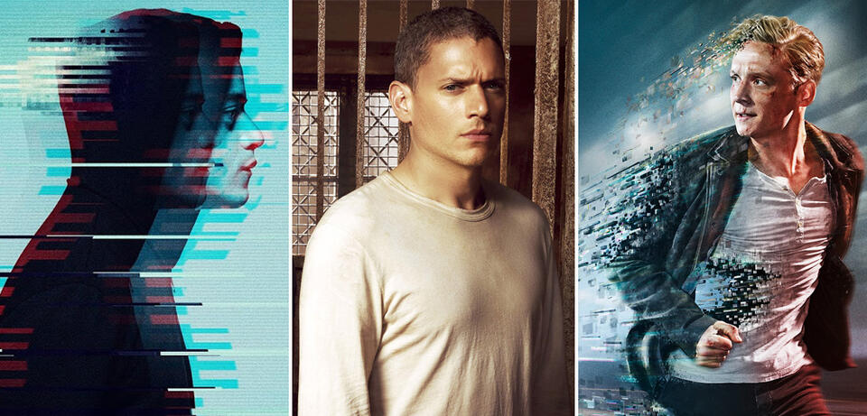 Mr. Robot, Prison Break und You Are Wanted