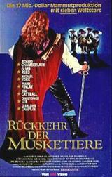 Die Rückkehr der Musketiere - Poster