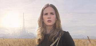 Britt Robertson in A World Beyond