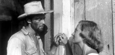 Gérard Philipe undMichèle Morgan in Aufenthalt vor Vera Cruz