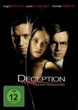 Deception - Tödliche Versuchung - Poster