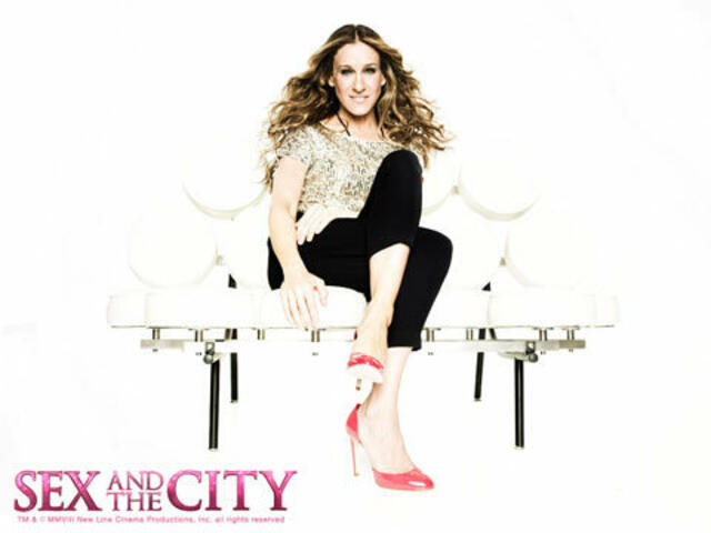 Sarah Jessica Parker als Carrie in Sex and the City