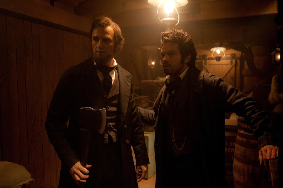 Abraham Lincoln Vampirjäger mit Dominic Cooper und Benjamin Walker