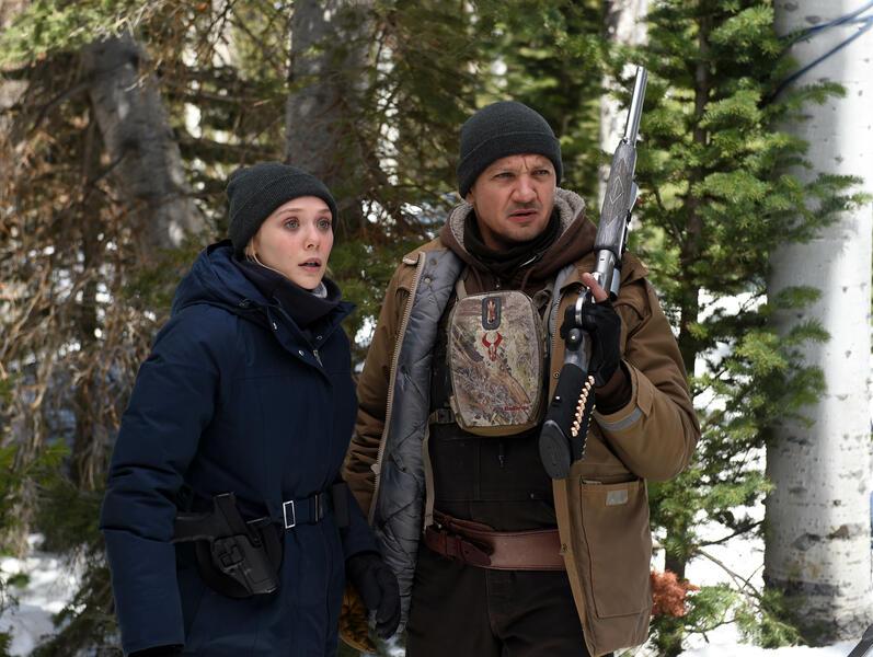 Wind River mit Jeremy Renner und Elizabeth Olsen