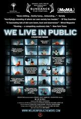 We Live in Public - Poster