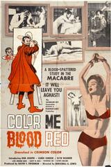 Color Me Blood Red - Poster