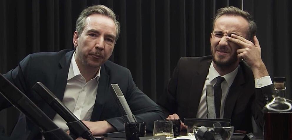 Olli Schulz und Jan Böhmerman