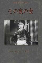 Die Frau jener Nacht - Poster