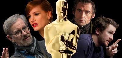 Frühe Oscar-Kandidaten: Steven Spielberg,Jessica Chastain,Hugh Jackman &Darren Aronofsky
