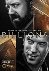 Billions - Staffel 1 - Poster