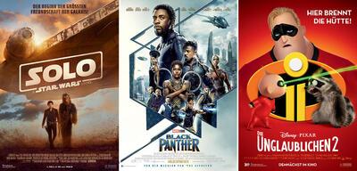 Solo, Black Panther, Die Unglaublichen 2