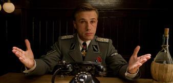 Christoph Waltz als Hans Landa inInglourious Basterds