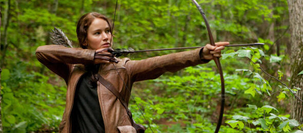 Jennifer Lawrence in Die Tribute von Panem