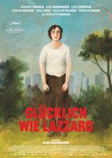 Glücklich wie Lazzaro - Poster