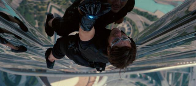 Tom Cruise klettert wieder ganz nach oben.