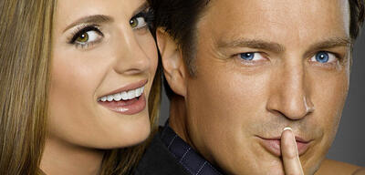 Stana Katic und Nathan Fillion in Castle