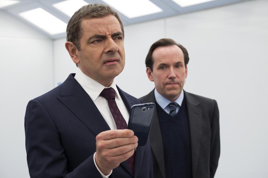 Johnny English - Man lebt nur dreimal mit Rowan Atkinson und Ben Miller