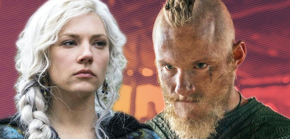 Vikings: Lagertha und ihr Sohn Björn