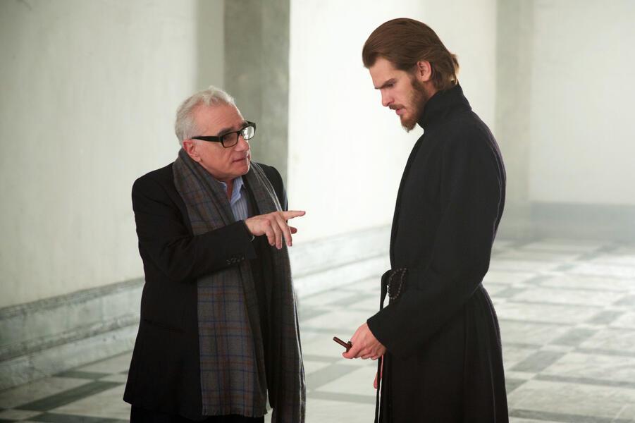 Silence mit Martin Scorsese und Andrew Garfield