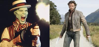 Jim Carrey &Hugh Jackman