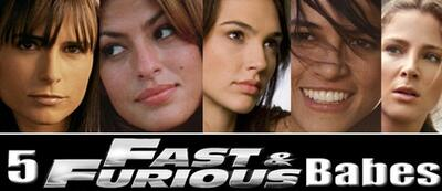 5 fast and furious Babes