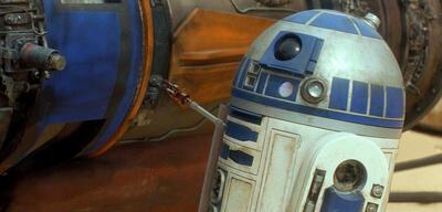 Kenny Baker als R2-D2 in Star Wars