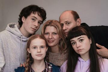 Mirella und ihre Familie