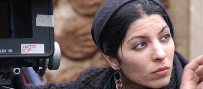Regisseurin Samira Makhmalbaf