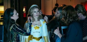 Starlight (Erin Moriarty) gerät in die Maschine des Vought-Konzerns.