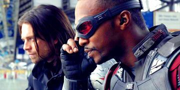 Winter Soldier und Falcon