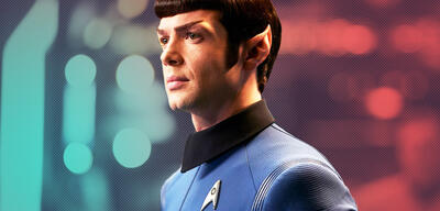 Ethan Peck als Mr. Spock in Star Trek: Discovery