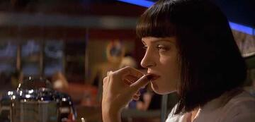 Mia in Pulp Fiction