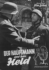 Der Hauptmann und sein Held - Poster