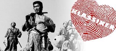 Die Sieben Samurai sind zur Verteidigung des Bauerndorfes bereit